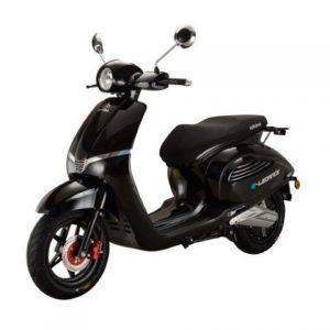 Nipponia Elegance elektrische scooter zwart