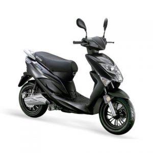 E-scooter Nipponia E-Rex Zwart